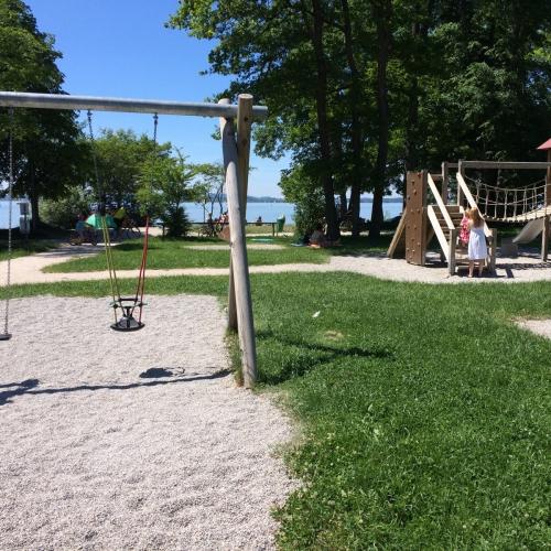 Bild 1: Strandbad Übersee