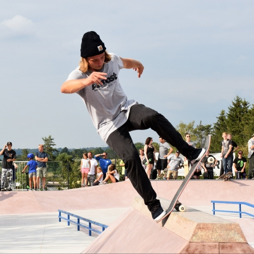 Bild 1: Trendsportanlage Skatepark Obere Röth