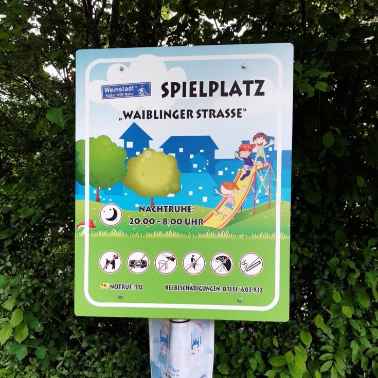 Bild 3: Waiblinger Straße