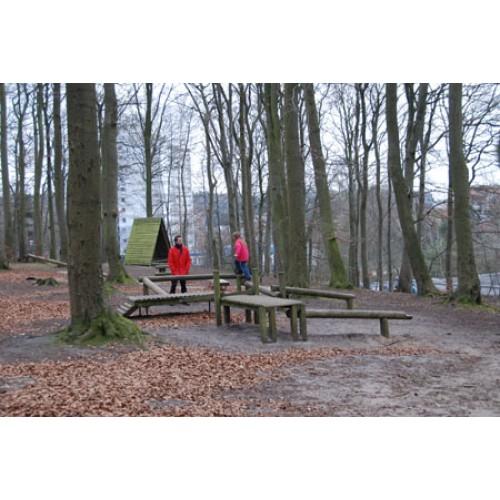 Bild 9: Waldspielplatz im Riesebusch