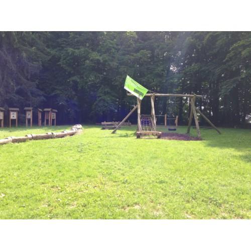 Bild 3: Waldspielplatz
