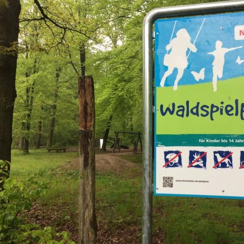 Bild 2: Waldspielplatz Akazienweg