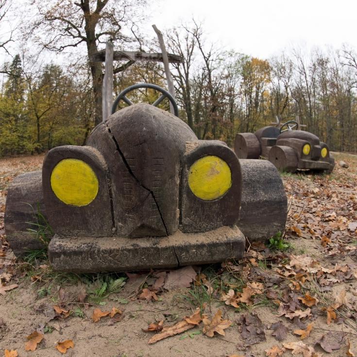 Bild 1: Waldspielplatz Spandauer Forst