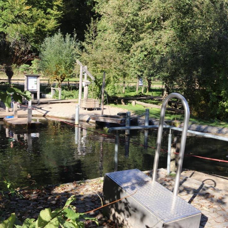 Bild 4: Wasserspielplatz im Freilichtmuseum