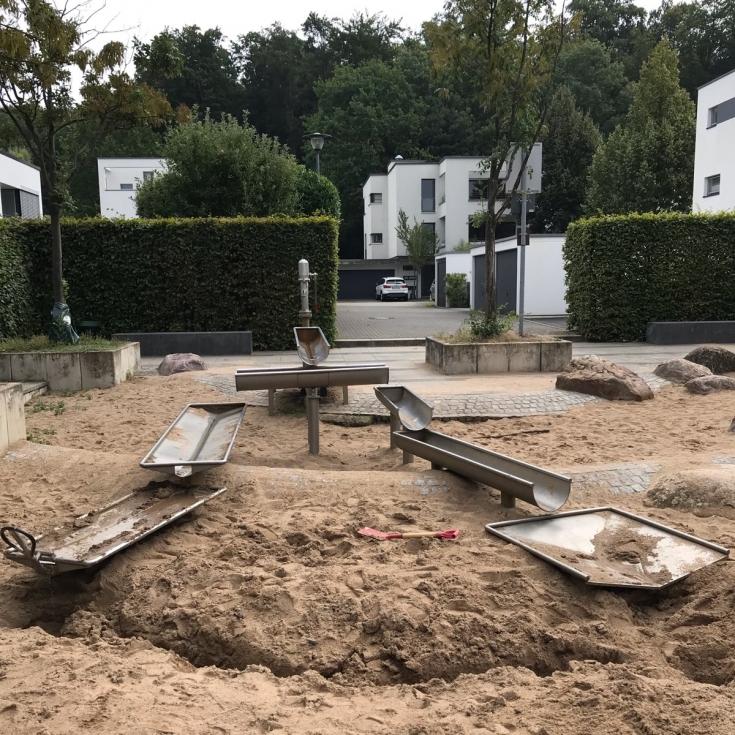 Bild 3: Wasserspielplatz Stadtwaldviertel